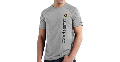 Carhartt 101121 Men's Force Cotton Delmont Graphic Short Sleeve T-Shirt
