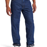 Carhartt B172 Men's Relaxed Fit Straight Leg Flannel Lined Jean