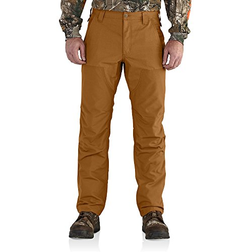 Carhartt Men's 102282 Upland Relaxed Fit Field Pant - 34W x 30L - Carhartt Brown
