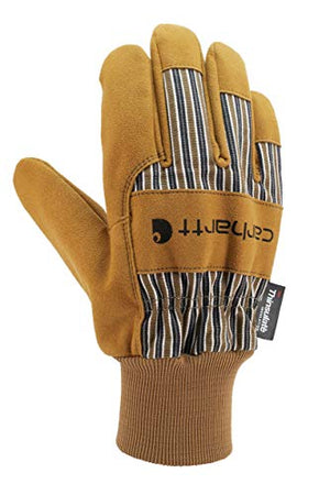 CAR-GLOVE-A512-BRN-LARGE: STK