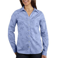 Carhartt WS014 Women's Women's Embroidered Woven Shirt
