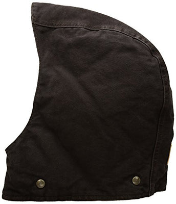 Carhartt Men's Arctic Quilt Lined Sandstone Hood, Dark Brown, SM-XL