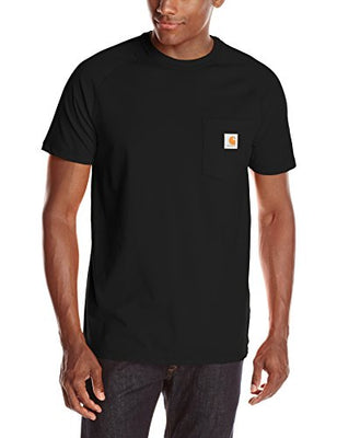 Carhartt 100410 Men's Force Cotton Delmont Short Sleeve T-shirt (Regular and Big & Tall Sizes)