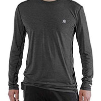 Carhartt Men's 102998 Force Extremes Long Sleeve T-Shirt - X-Large - Black/Black Heather