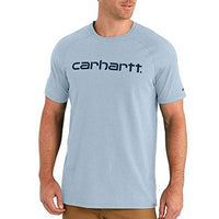 Carhartt 102549 Men's Force Cotton Delmont Graphic Short Sleeve T Shirt