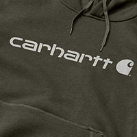 Carhartt Men's Force Delmont Signature Graphic Hooded Sweatshirt