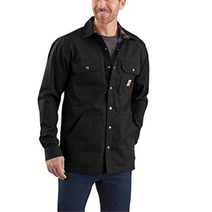 Carhartt Men's Big & Tall Long-Sleeve, Black, 3X