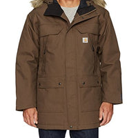 Carhartt 102728 Men's Quick Duck Sawtooth Parka