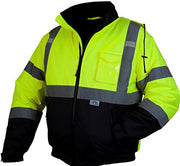 Pyramex RJ3210 Safety Bomber Jacket with Quilted Lining