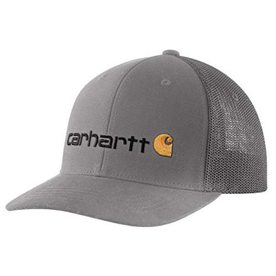Carhartt Men's Mesh Back Signature Graphic Cap