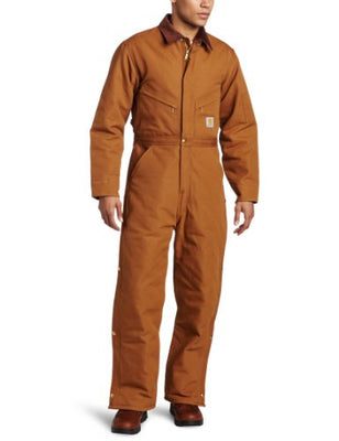 Carhartt X01 Men's Big & Tall Arctic Quilt Lined Duck Coveralls
