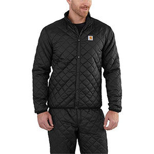 Carhartt Men's 102316 Yukon Quilted Base Layer Top - Small - Black