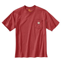 Carhartt Men's 104178 Rugged Graphic T-Shirt - X-Large - Dark Barn Red Heather