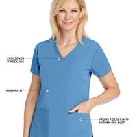 Grey's Anatomy 2115 Signature 3-Pocket Top for Women - Super-Soft Medical Scrub Top