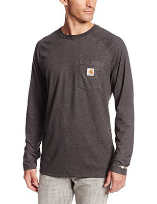 Carhartt 100393 Men's Force Cotton Delmont Long-Sleeve T-Shirt