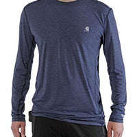 Carhartt 102998 Men's Force Extremes Long Sleeve T-Shirt - Large - Navy Heather