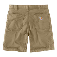 Carhartt 104196 Men's Force Relaxed Fit Ripstop Work Short - 8.5 Inch - 32W - Dark Khaki