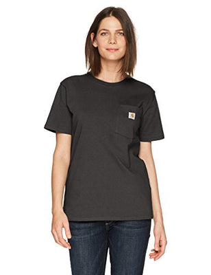 Carhartt Women's K87 Workwear Pocket Short Sleeve T-Shirt (Regular and Plus Sizes)