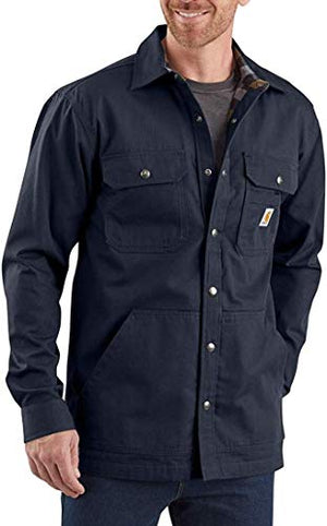 Carhartt Men's 104146 Ripstop Solid Shirt Jac