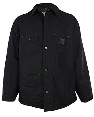 Carhartt Men's Cotton Pocket Coat (XL, Black)