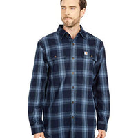 Carhartt 104451 Original Fit Flannel Long Sleeve Plaid Shirt