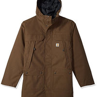 Carhartt Men's Big and Tall Big & Tall Quick Duck Sawtooth Parka