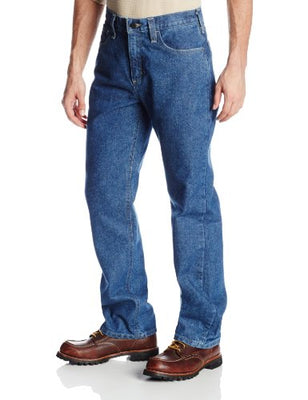 Carhartt Men's Flame Resistant Utility Denim Jean Relaxed Fit