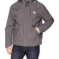 Carhartt J162 Men's Shoreline Jacket Waterproof Breathable Nylon