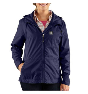 Carhartt Women's Rockford Windbreaker Xsmall Ink Blue