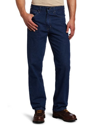 Carhartt Men's Flame Resistant Signature Denim Jean Relaxed Fit