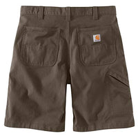 Carhartt Men's 104195 Rugged Flex Loose Fit Canvas Work Short - 10 Inc - 44 - Tarmac