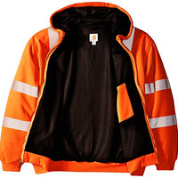Carhartt 100504 Men's Big & Tall High Visibility Class 3 Thermal Sweatshirt