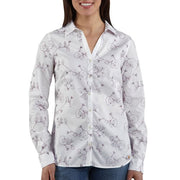 Carhartt Women's WS014 Women's Embroidered Woven Shirt - X-Large - White