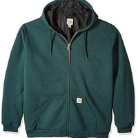 Carhartt Men's Big & Tall Rain Defender Rutland Thermal Lined Hooded Sweatshirt