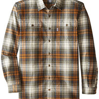 Carhartt Men's Big & Tall Hubbard Plaid Shirt