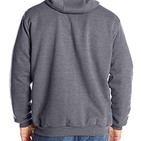 Carhartt Men's Big & Tall Rutland Thermal Lined Zip Front Sweatshirt Hoodie