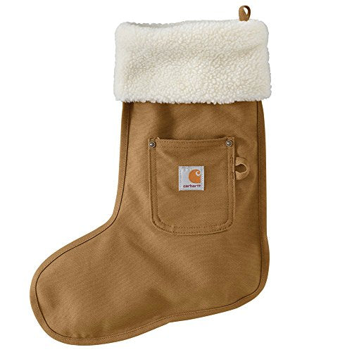 Carhartt 102301 Gear Christmas Stocking - One Size Fits All - Carhartt Brown