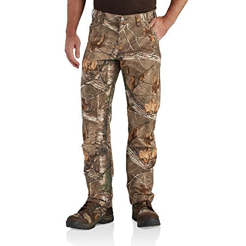 Carhartt Men's 102305 Full Swing Cryder Camo Relaxed Fit Pant - 36W x 32L - Realtree Xtra