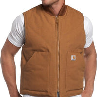 Carhartt Men's Big & Tall Arctic-Quilt Lined Duck Vest