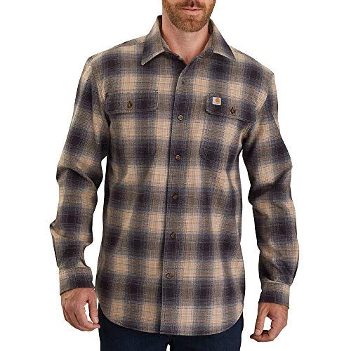 Carhartt 104451 Men's Long-Sleeve, Black, Large