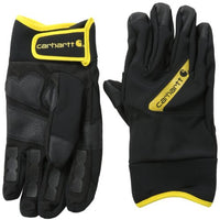 CAR-GLOVE-A617-BLK YELLOW-MEDIUM