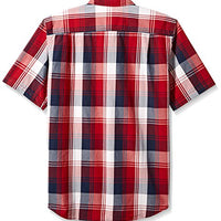 Carhartt Men's Big & Tall Essential Plaid Button Down Collar Ss Shirt