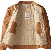 Carhartt Men's Big & Tall Flame Resistant Midweight Canvas Dearborn Jacket