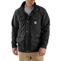 Carhartt 103126 Men's Utility Coat - Small - Black