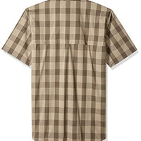 Carhartt Men's Force Plaid Ridgefield Short Sleeve Shirt (Regular and Big & Tall Sizes)