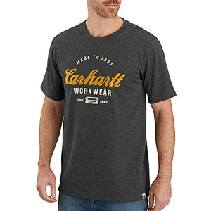 Carhartt 104181 Men's Made to Last Explorer Graphic T-Shirt - 2X Tall - Carbon Heather