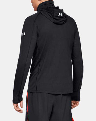Under Armour 1323056 Men's Microthread Swyft Facemask Hoodie
