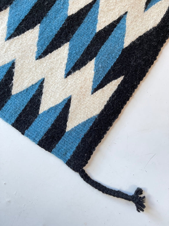 Pre-order: Teo Rug in Blue/Black