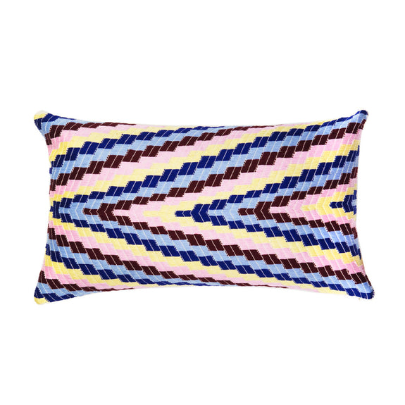 "Almolonga Pillow - Multi - 12"" x 20"" Rectangle"