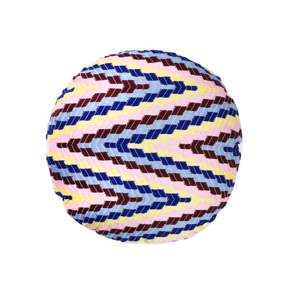 "Almolonga Pillow - Multi - 16"" Circle"